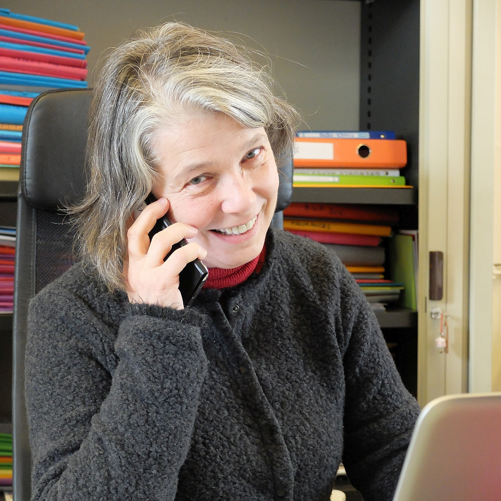 photo of Elisabeth LaBarre (Polygon Physics administration)